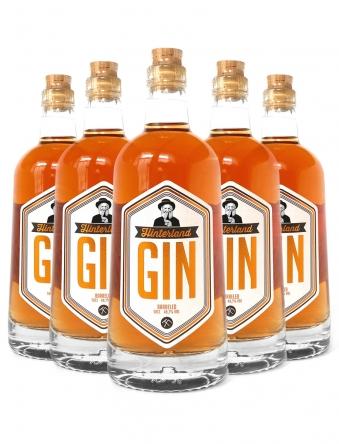 Hinterland Gin Barreled · 6 x 0,5 Liter